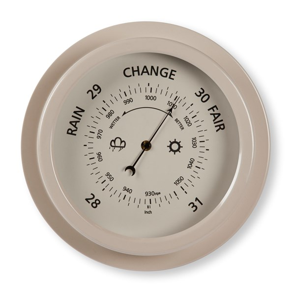 GARDEN TRADING BAROMETER In Clay Finish