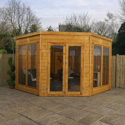Premier Corner Garden Summer House by Mercia