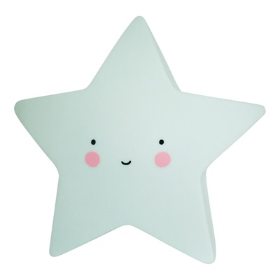 MINI MINT STAR NIGHT LIGHT