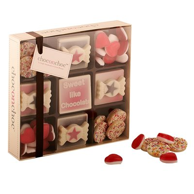 VALENTINES CHOCOLATES in Sweet Like You design