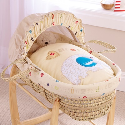 PALM MOSES BASKET in ABC Design