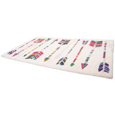 KIDS DECORATIVE RUG in Arrows Design