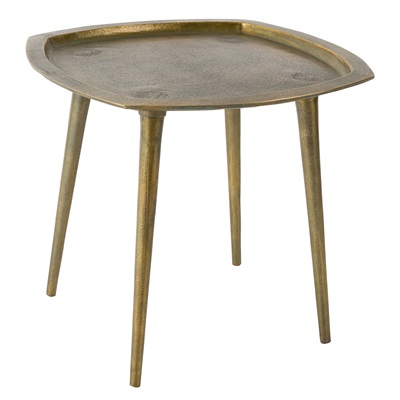 DUTCHBONE ABBAS GOLD SIDE TABLE in Moroccan Style