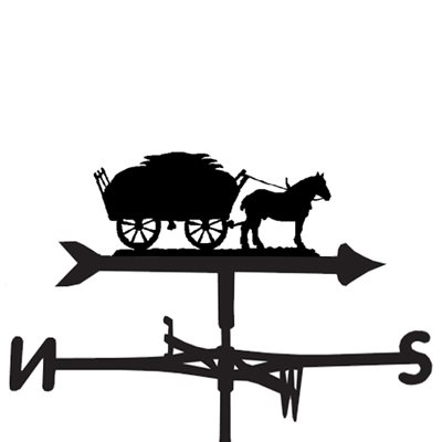 WEATHERVANE in A Hay Time Horse Design