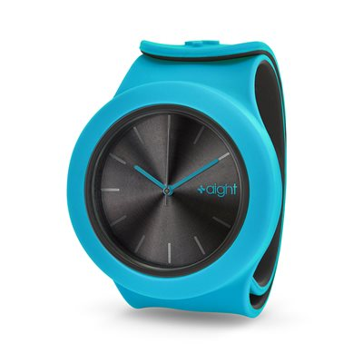AIGHT 1AM DESIGNER SLAP WATCH in Caribbean Blue