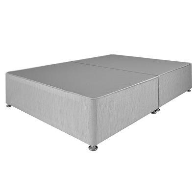 AIRSPRUNG DIVAN BED BASE in Grey