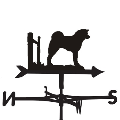 WEATHERVANE in Akita Inu Design