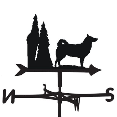 WEATHERVANE in Alaskan Malamute Design
