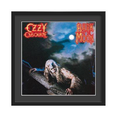 OZZY OSBOURNE FRAMED ALBUM WALL ART in Bark At The Moon Print