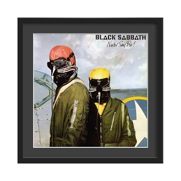Black Sabbath Never Say Die Album Print