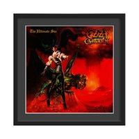 OZZY OSBOURNE FRAMED ALBUM WALL ART in Ultimate Sin Print  Large