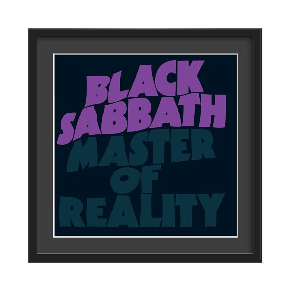 Black Sabbath Master of Reality Framed Print