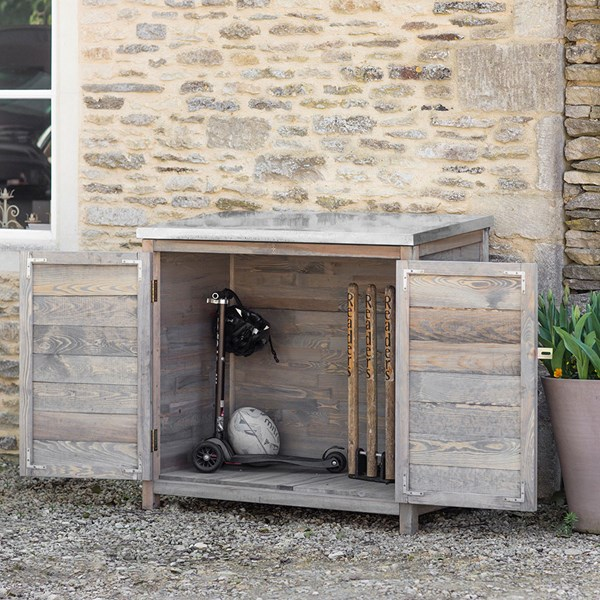 Garden Trading Aldsworth Tall Outdoor Storage Box