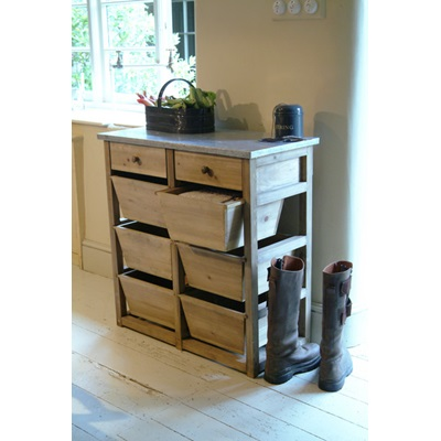 ALDSWORTH 8 DRAWER STORAGE UNIT in Spruce