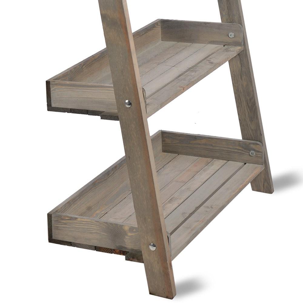 low priced fbae7 c9a71 Garden Trading Aldsworth Wide Wooden Ladder Shelf