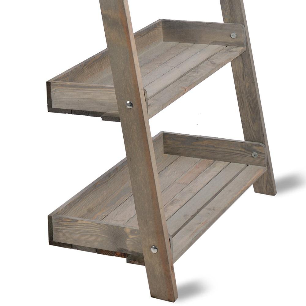 Kitchen Ladder Shelf: Garden Trading Aldsworth Wide Wooden Ladder Shelf