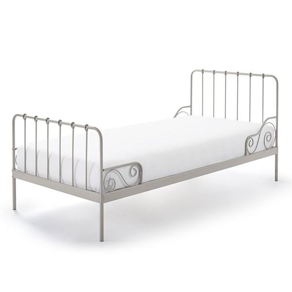 Light Grey Vintage Style Kids Bed
