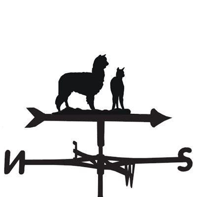 WEATHERVANE in Alpaca Design