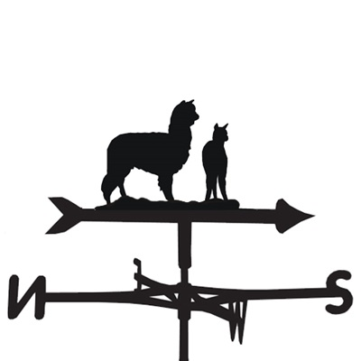 WEATHERVANE in Alpaca Design