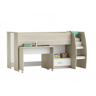 AMELIA MID SLEEPER KIDS CABIN BED
