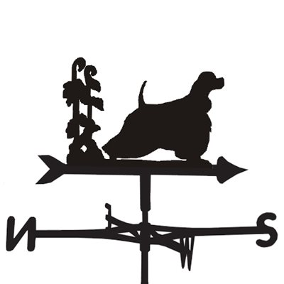WEATHERVANE in American Cocker Design