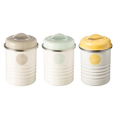 typhoon tea coffee sugar canisters in americana design