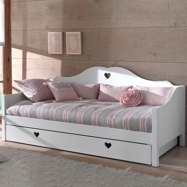 Amori Kids White Day Bed