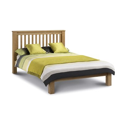 AMSTERDAM BED FRAME in Oak by Julian Bowen