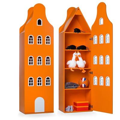 AMSTERDAM HOUSE WARDROBE in Neck Gable Design