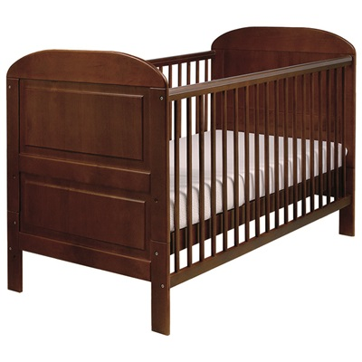 EAST COAST BABY & TODDLER COT BED in Cocoa Angelina Design