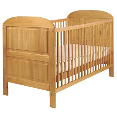 EAST COAST ANGELINA BABY & TODDLER COT BED in Antique