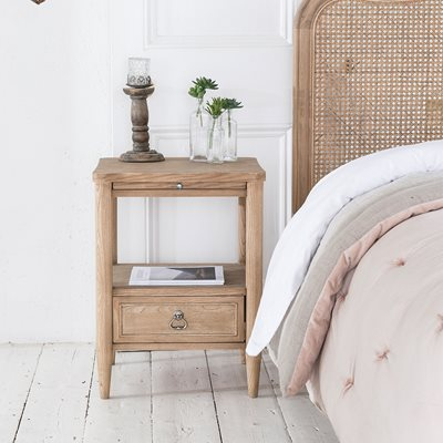 WILLIS & GAMBIER ANGELIQUE BEDSIDE TABLE with Drawer