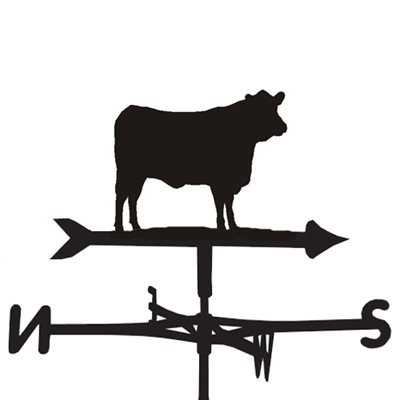 WEATHERVANE in Angus Cow Design