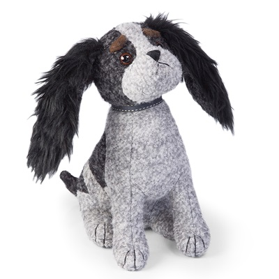 CHARLES THE DOG Animal Doorstop