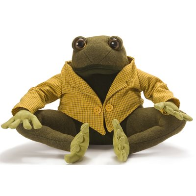 LIONEL THE FROG Animal Doorstop