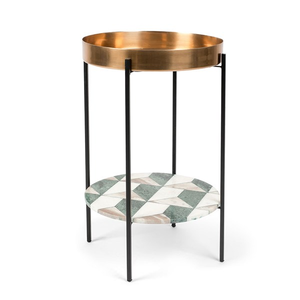 Bold Monkey Another Marble Side Table