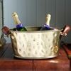 Champagne Bath Antique Brass (Half Size) By Culinary Concepts.