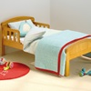 Antique Pine Finish Toddler Bed