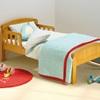 Antique Pine Finish Toddler Bed