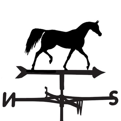 Weathervane in Arab Horse Design