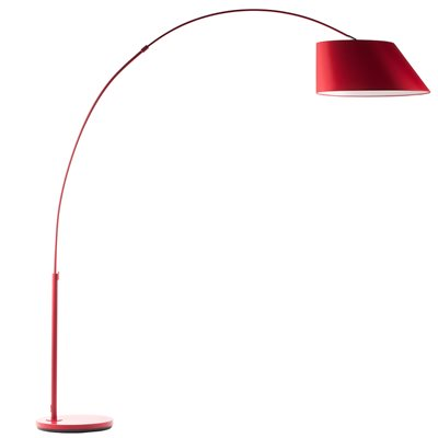 ARC STUDY FLOOR LAMP in Red
