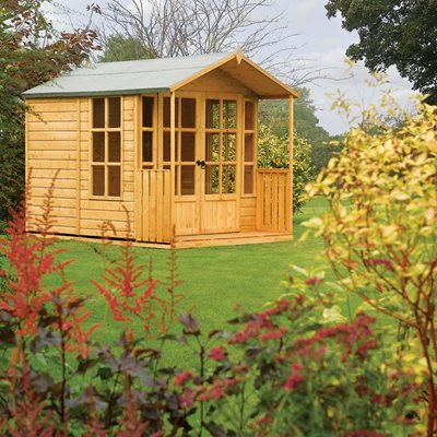 ROWLINSON ARLEY OUTDOOR SUMMER HOUSE in Honey Brown