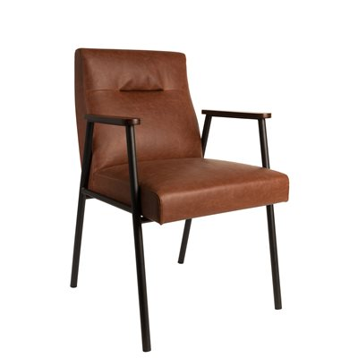 FEZ VINTAGE DINING ROOM & OFFICE ARMCHAIR