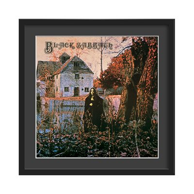 BLACK SABBATH FRAMED ALBUM WALL ART
