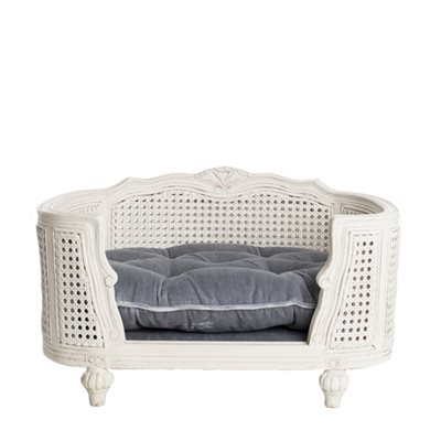 The Arthur Designer Pet Bed in Pile Grey