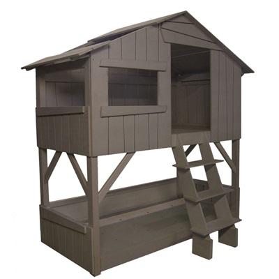 mathybols kids treehouse bunkbed in artichoke   cuckooland