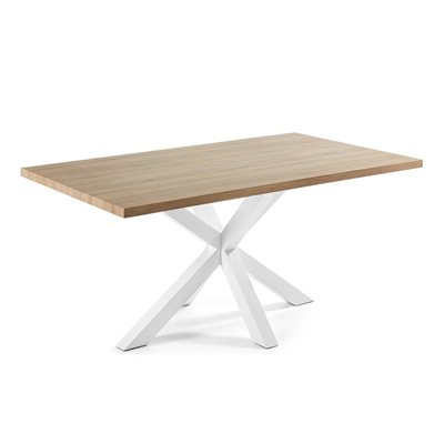 ARYA MODERN DINING TABLE in White