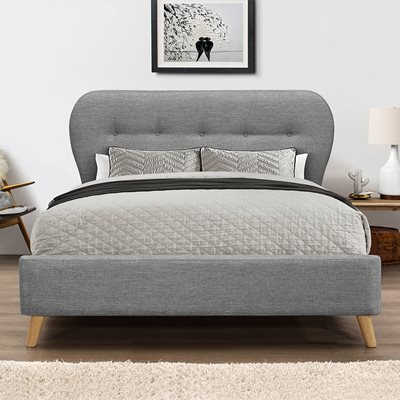 ASHLEY UPHOLSTERED BED by Flair Furnishings