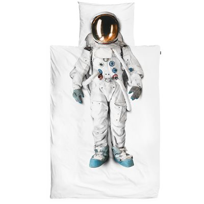 SNURK Childrens Astronaut Duvet Bedding Set