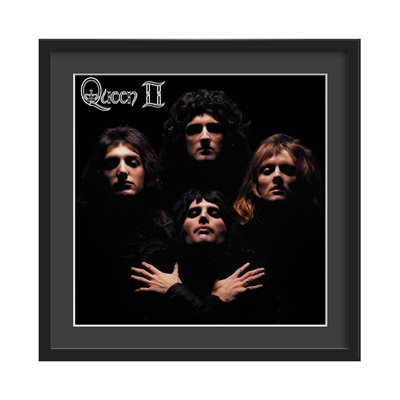 QUEEN FRAMED ALBUM WALL ART in Queen II Print